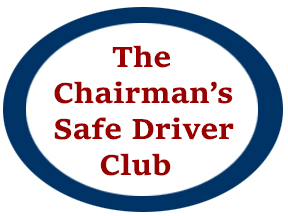 Chairman's Safe Driver Club Icon