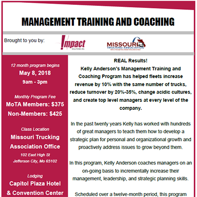 Impact Solutions – Mangement Training and Coaching